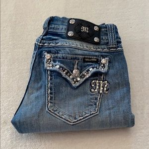 Miss Me cropped jeans size 27